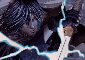 Sasuke Uchiha by DimaFisher