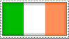 Irish Flag Stamp by WaterCreature