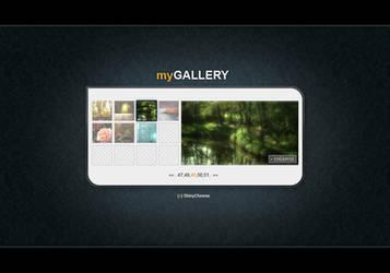 Minimalistic gallery by Macilot