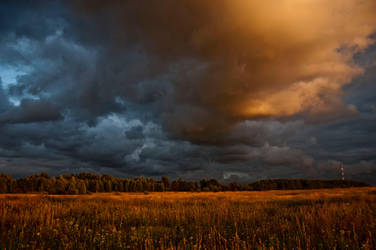 Cloudy again by marphey