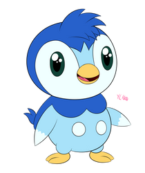[New OC] Kippie the Piplup by yoshiLover1000