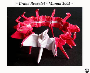 Crane Bracelet by MannaOri