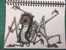 Monster Lady Thing by hARTzler1