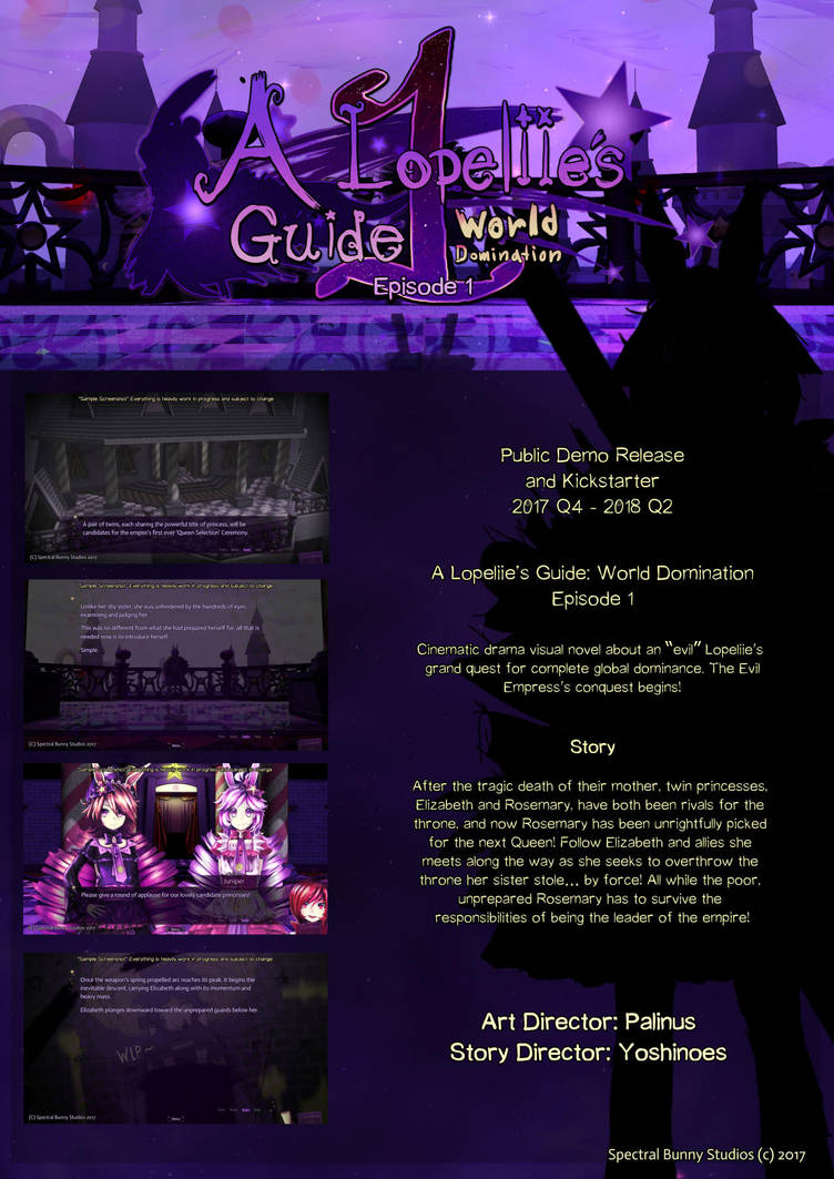 A Lopeliie's Guide: World Domination by palinus