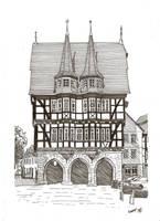 Das Rathaus von Alsfeld by megalobo