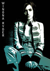Winona Ryder by dmarcone