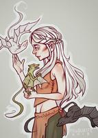 khaleesi by felloliette
