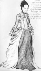 Mina sketch by PeleVarvara