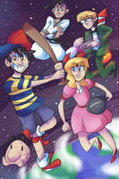 Earthbound by PsyDraws