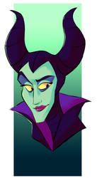 Maleficent by PsyDraws