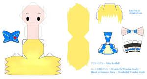 HnKnA PaperCraft - Alice by Larry-San