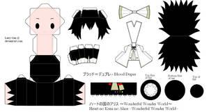 HnKnA PaperCraft - Blood by Larry-San