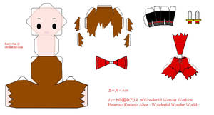 HnKnA PaperCraft - Ace by Larry-San
