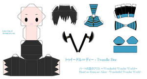 HnKnA PaperCraft - Tweedle Dee by Larry-San