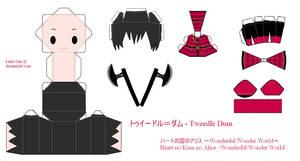 HnKnA PaperCraft - Tweedle Dum by Larry-San