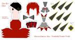 HnKnA PaperCraft - White Joker by Larry-San