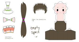 Spirited Away Papercraft - Chihiro by Larry-San