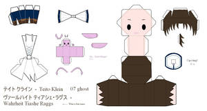 07Ghost Papercraft - Teito by Larry-San