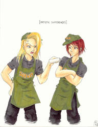 Sandwich Artists by BrokenHighway