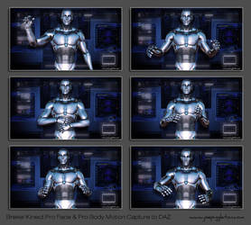Brekel Kinect Pro Face/Pro Body Motion Capture DAZ by JoePingleton