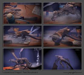 Loquatious Dragon Test Animation by JoePingleton