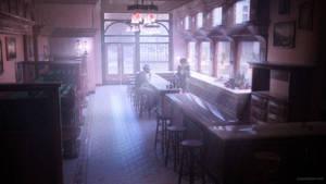Bar Interior by JoePingleton