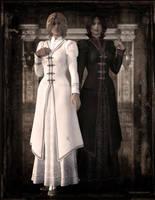 Sisters of Light and Dark by JoePingleton