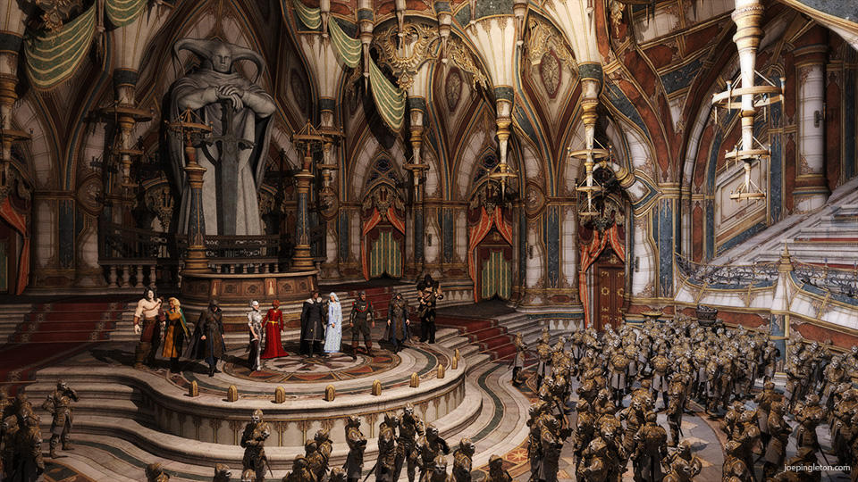 Hall of Heroes by JoePingleton