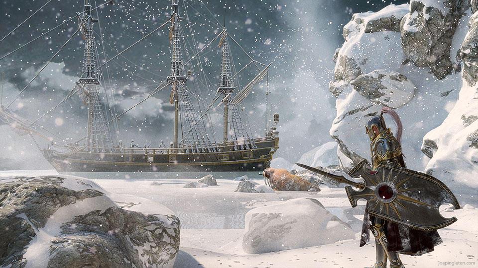 The White Sea by JoePingleton