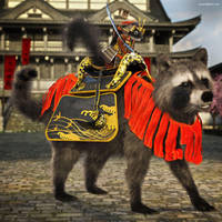 The Return of Samurai Squirrel by JoePingleton