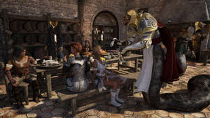 Dinner Guests by JoePingleton