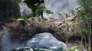 Dragon Bridge by JoePingleton