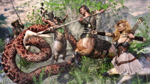 Snake Hunt by JoePingleton