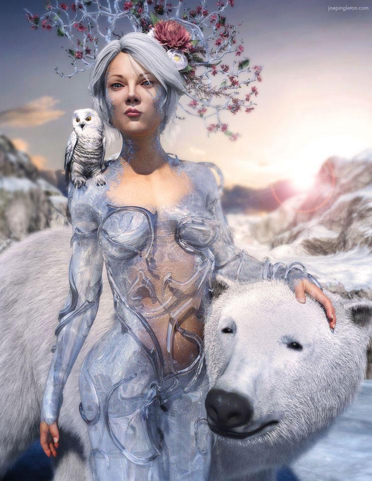 Ice Queen by JoePingleton