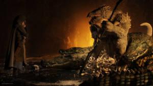 Lair of the Lizard King by JoePingleton