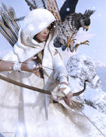 Lady Snow by JoePingleton
