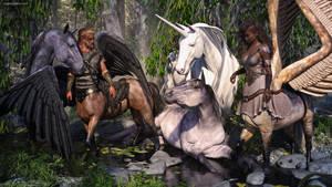 Horse Play by JoePingleton