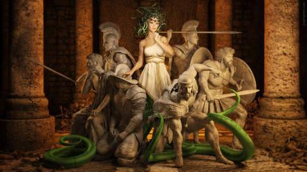 Medusa's Throne by JoePingleton