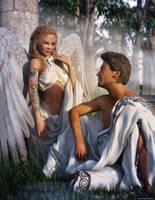 Tattooed Angel by JoePingleton