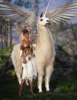 Llamapegacorn by JoePingleton