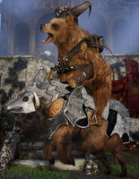 Bearbarian by JoePingleton