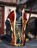 Chimp King by JoePingleton