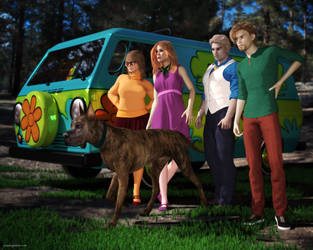 Meddling Kids by JoePingleton