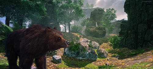 The Bear and The Rabbit by JoePingleton