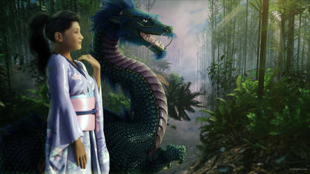 The Princess and the Dragon by JoePingleton
