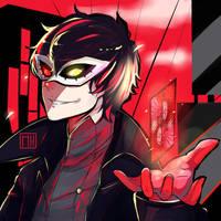 P5 - Joker by MonkeyHazard