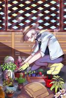 Mystic messenger: Domestic Zen! by MonkeyHazard