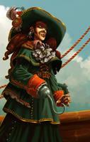 -Pirate by Sally-Avernier