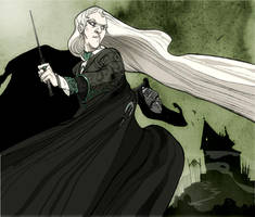 Lucius Malfoy by Sally-Avernier