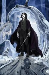 Severus Snape by Sally-Avernier